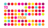 Colourful Dots To/From Label