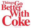 Better with Coke