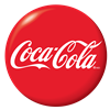 Red Coca-Cola Button
