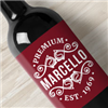Make your own personalized wine labels for weddings, corporate events, or if you make your own wine, you can make the labels for the bottles, too! Make custom wine labels by using one of our templates below, or design your own by selecting the Upload or Create Your Own design template. Make your own wine labels at StickerYou!