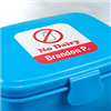 StickerYou's durable, waterproof and dishwasher-safe allergy labels identify your child's allergies clearly on all their belongings. Keeping your child's water bottles, Tupperware and travel gear allergen-free has never been so easy or so stylish!