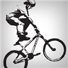 Make a sticker for your BMX bike! BMX stickers from StickerYou are die cut decals on clear or white vinyl, so they make perfect bicycle stickers. Use these to personalize your custom frame, or order stickers to help you finish your restoration project.