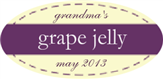 Grandma's Grape Jelly
