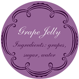 Grape Jelly Lid