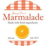Marmalade Label