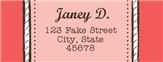 Victorian Address Labels