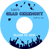 Graduation CD Label