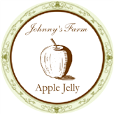 Victorian Apple Jelly Label