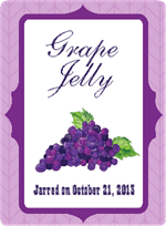 Grape Jelly Label