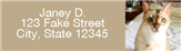 Pet Address Labels