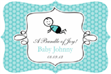 Baby Boy Fancy Label