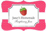 Raspberry Jame Fancy Label