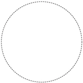 Large Round Iron-On Labels