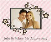 Anniversary Wine Labels