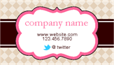 Business Card Sticker 3