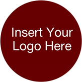 Customizable Large Round Label