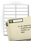 Wide Address Labels