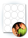 "2.5"" Round Photo Stickers"