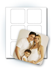 "3"" Square Photo Stickers"